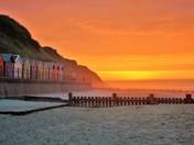 Mundesley sunset