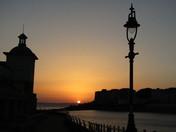 Beautiful Weston sunset