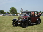 Steam and Cider Fair - Rolling Classic Car Display