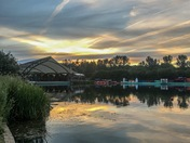 Sunset at Whitlingham Broad
