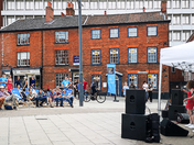 Live Music Entertainment in the City Centre