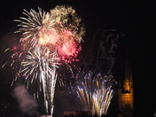 Lord Mayors Procession fireworks saturday 6th july