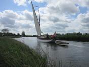 Wherry Yachts .Historical Norfolk.