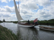Wherry Yachts .Historical Norfolk.