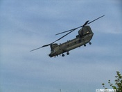 Boeing CH-47 chinook helicopter
