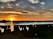 Photo comp - Sunset at Bawdsey