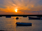 Photo comp - Sunset at Burnham Ovary Staithe