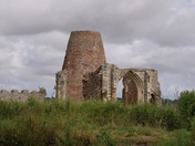 St Benet's Abbey from the River