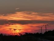 Sunset in Banham