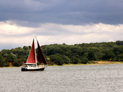 The river Orwell - the bridge and Shotley