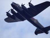 Lancaster Over Stowmarket.