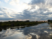 Isleham cloudy sunset