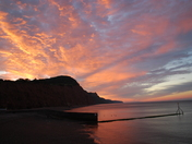 Sunrise Sidmouth Beach
