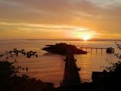 Birnbeck Sunset