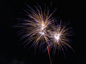 Felixstowe Carnival Finale Fireworks