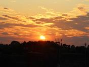Lowestoft Roof Top Sunset