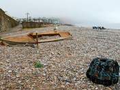 New Sidmouth boat in the fog