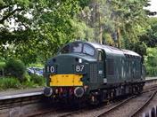 British Railways Class 37 Electric Type Diesel Locomotive