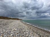 Sheringham beach walk
