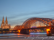 Hohenzollern Bridge  the padlock bridge Cologne