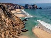 Porthcuro Beach