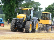 Tractor Pulling at Marsham Show