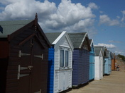 Huts at Felixstowe
