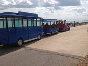 On the prom at Felixstowe