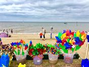 Project 52..buckets of colour at the beach