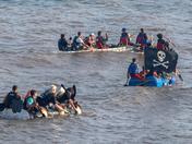 Sidmouth Regatta Raft Race 2019