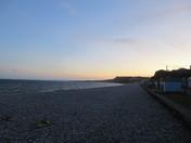 Budleigh Salterton at dusk