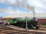 Locomotive 61306 Mayflower at Lowestoft
