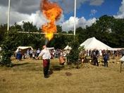 Sixteenth century Kett Rebellion - fun day at Wymondham