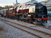 Duchess of Sutherland Visiting Norwich(friday6th September)