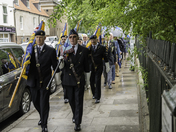 Battle of Britain Commemoration service. Tower Gardens Kings Lynn