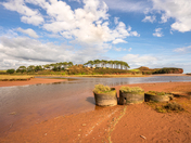 Late Summer at Budleigh Salterton