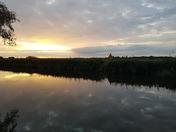 Broads Sunset - River Thurne