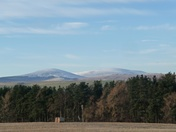 The Cheviot and Hedgehope.