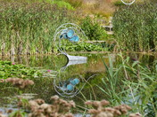 JENNY PICKFORD SCULPTURE REFLECTION IN THE LAKE
