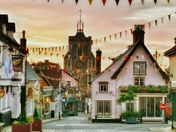 Diss a histrionic market town
