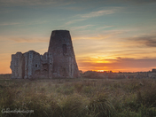 St Bennets Abbey sunset