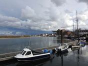 Stormy sky at Wells