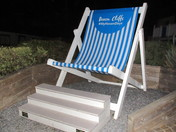 Devon Cliffs deck chair