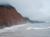 Misty Jurassic Coast Sidmouth