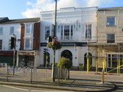 Honiton High Street, on a late sunny Autumn afternoon.