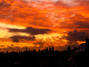 Sunrise over Great Yarmouth Rooftops