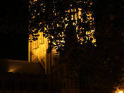 Bury St Edmunds at night