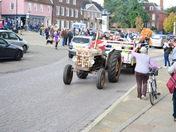 Bardwell Charity Tractor Road Run