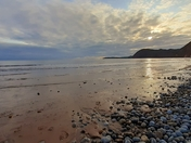 Calming Sidmouth Autumn Sea