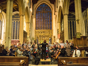 National Symphony Orchestra rehearsals at St Peter Mancroft.